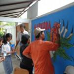 pelatihan mural di blitar